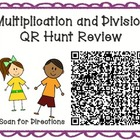 Multiplication / Division Word Problem QR Hunt