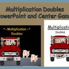 Multiplication Doubles Concept PowerPoint and Center Game