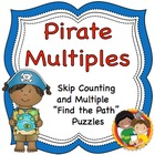 "Skip Counting and Multiplication ""Find the Path"" Puzzles and Game"