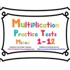 Multiplication Facts 1-12 Timed Tests