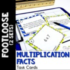 Multiplication Facts 1 & 2 Footloose