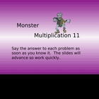 Multiplication:  Facts 9-12