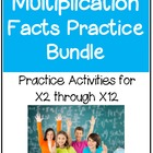 Multiplication Facts Practice Bundle