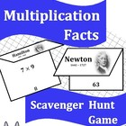 Multiplication Facts Scavenger Hunt Game