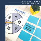 Multiplication Flip & Match Games with the 2 Times Table