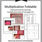 Multiplication Foldable