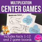 Multiplication Friends: Math Centers