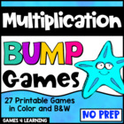 Multiplication Games 27 Multiplication Bump Games