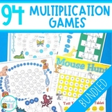 Multiplication Games - Bundle