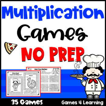 Multiplication Games NO PREP Longest Line