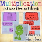 Multiplication Interactive Journal Activities