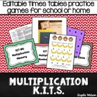 Multiplication KITs: Fun math fact practice games for cent