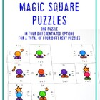 Multiplication Magic Squares Preview - FREE