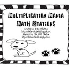 Multiplication Mania Math Stations