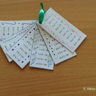 Pocket Times Tables (Multiplication Memory Flip Cards)