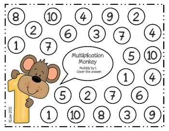 Multiplication Monkeys Games