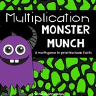 Multiplication Monster Munch