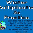 Multiplication PowerPoint 3s- Winter Theme