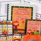 Multiplication Pumpkin Patch MagnetMat Fun