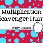 Multiplication Scavenger Hunt - 3.OA.3 and 3.OA.5 - Around