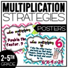 Multiplication Strategies Poster Pack