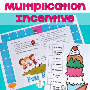 Multiplication Sundae Chart