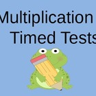 Multiplication Timed Tests (3rd +4th)