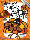 Multiplication Turkey Tracks & Feather Facts ~ Math Color