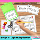 Multiplication - Two Digits by One Digit {Math Workshop Activity}