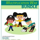 Multiplication War Bundle - 3 Engaging Double-Digit Multip