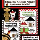 Multiplication and Division Christmas and Thanksgiving Fac