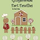 Multiplication and Division Gingerbread Fact Families