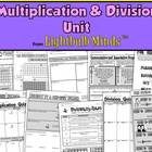 Multiplication and Division Unit from Lightbulb Minds