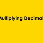 Multiplying Decimals PowerPoint by Kelly Katz