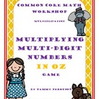 Multiplying Multi-Digit Numbers