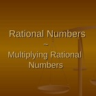Multiplying Rational Numbers PowerPoint