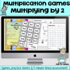 Multiplying by 2 - Math Games and Lesson Plan