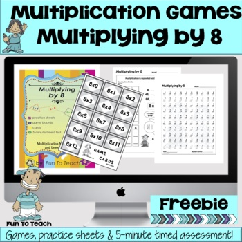 Multiplying by 8 - Math Games and Lesson Plan