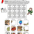 Multiplying with two-digits (Holiday Reindeer Activity) Co