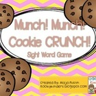 Munch! Munch! Cookie CRUNCH!Sight Word Game
