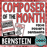 Music Composer of the Month: Leonard Bernstein