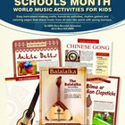 Music In Our School Month - E-book With 12 Musical Crafts
