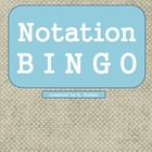 Music Notation Bingo Game