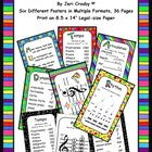 Music Room Posters - Elements Anchor Charts & Rules
