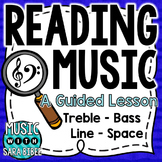 Music Theory- Lesson 1: Treble and Bass Clef