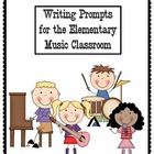 Music Writing Prompts for the Elementary Music Classroom