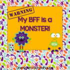 My Best Friend is a Monster; A Simile Writing Activity