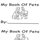 My Book Of Pets Emergent Reader