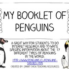 My Booklet of Penguins ~ Research & Writing