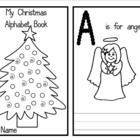 My Christmas Alphabet Book - Love this! (Flashcards)